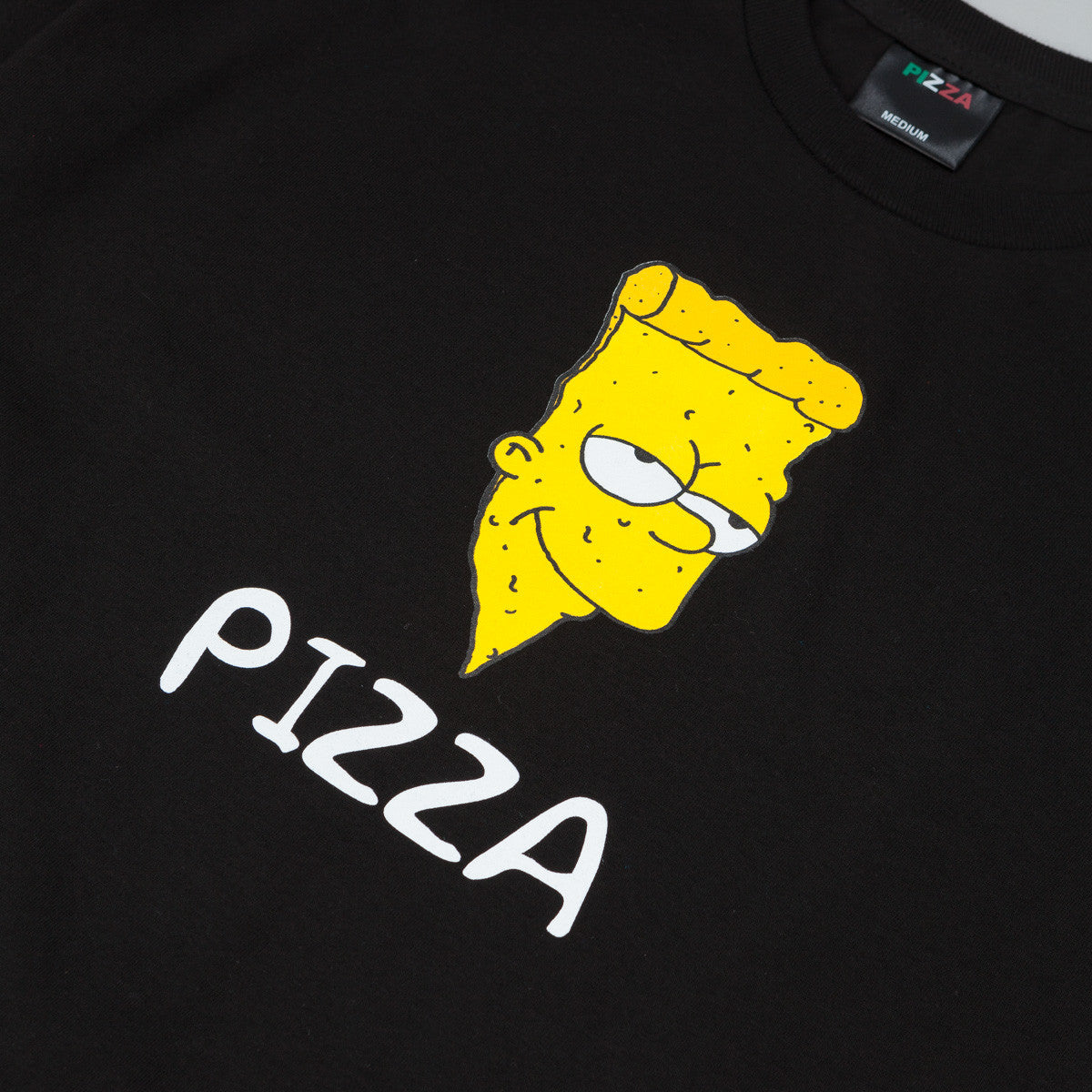 Pizza Skateboards Bart T-Shirt - Black