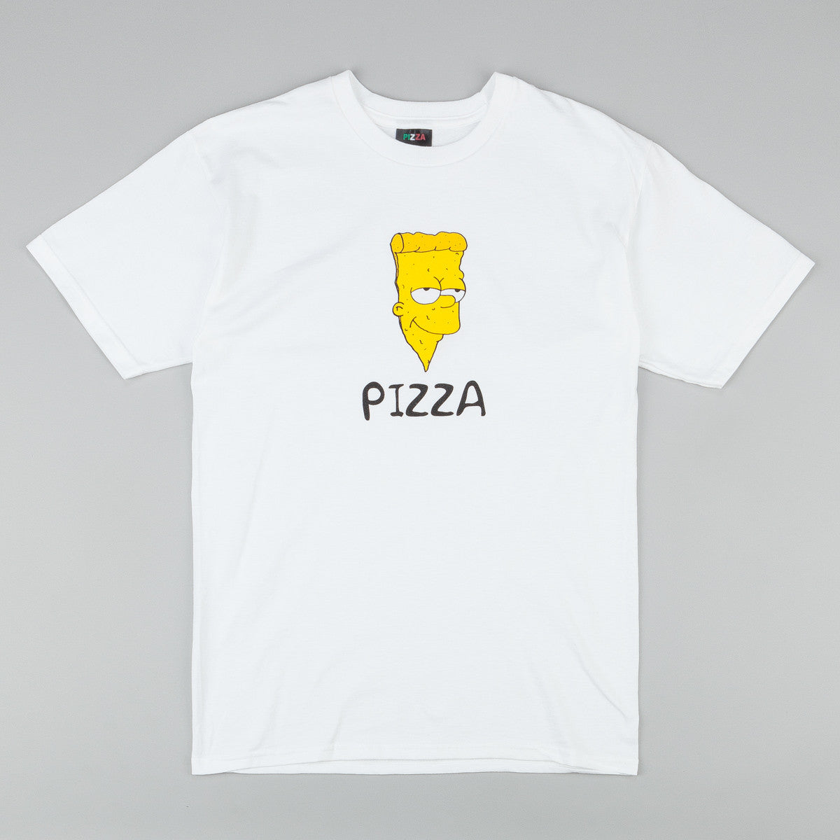 Pizza Skateboards Bart T-Shirt - White