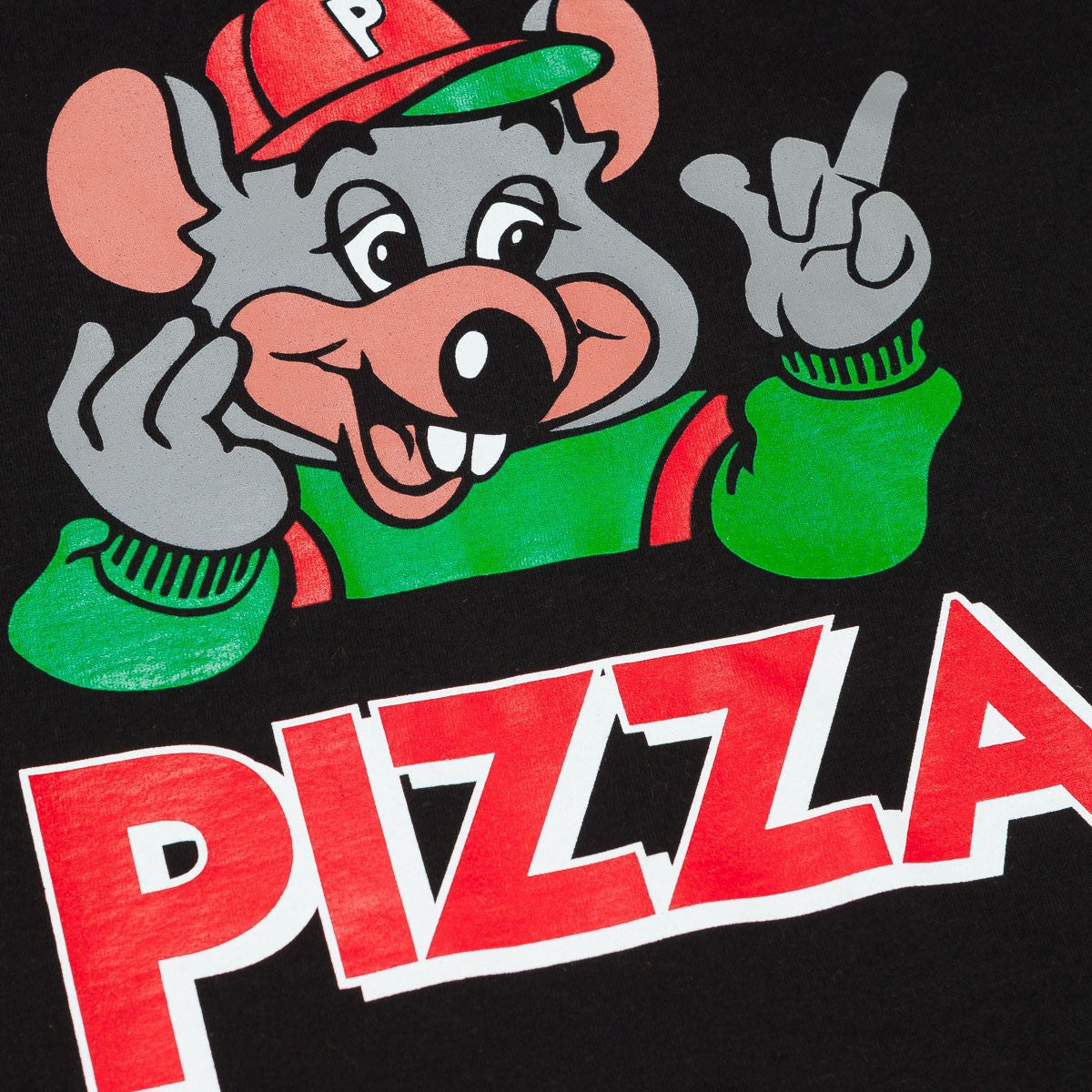 Pizza Skateboards Cheezy-E T-Shirt - Black
