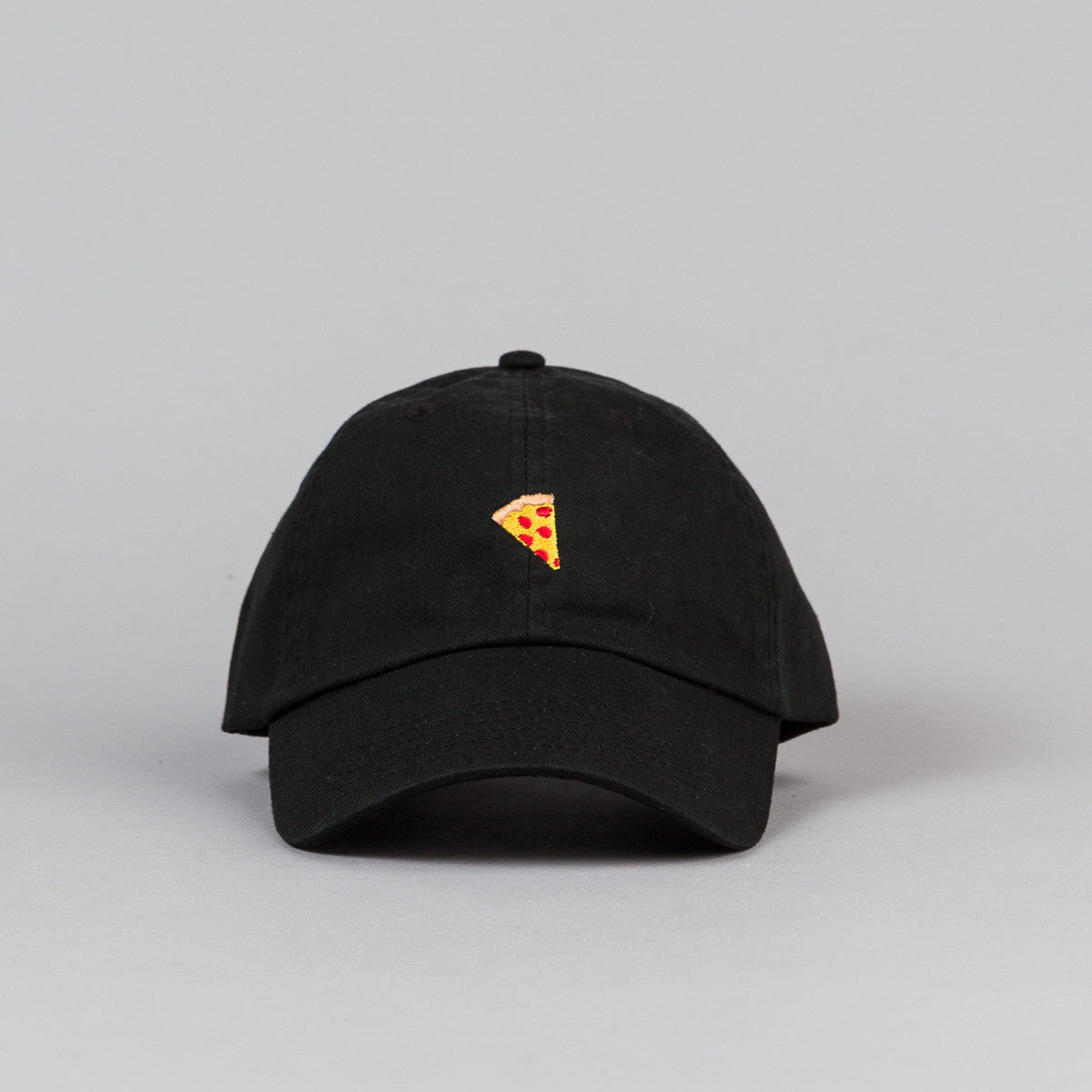 Pizza Skateboards Emoji Delivery Cap - Black