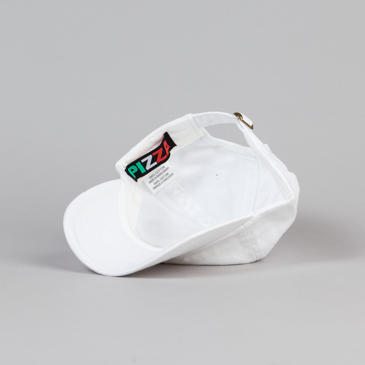 Pizza Skateboards Emoji Delivery Cap - White