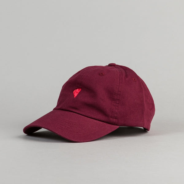 Pizza Skateboards Emoji Monochrome Hat - Burgundy