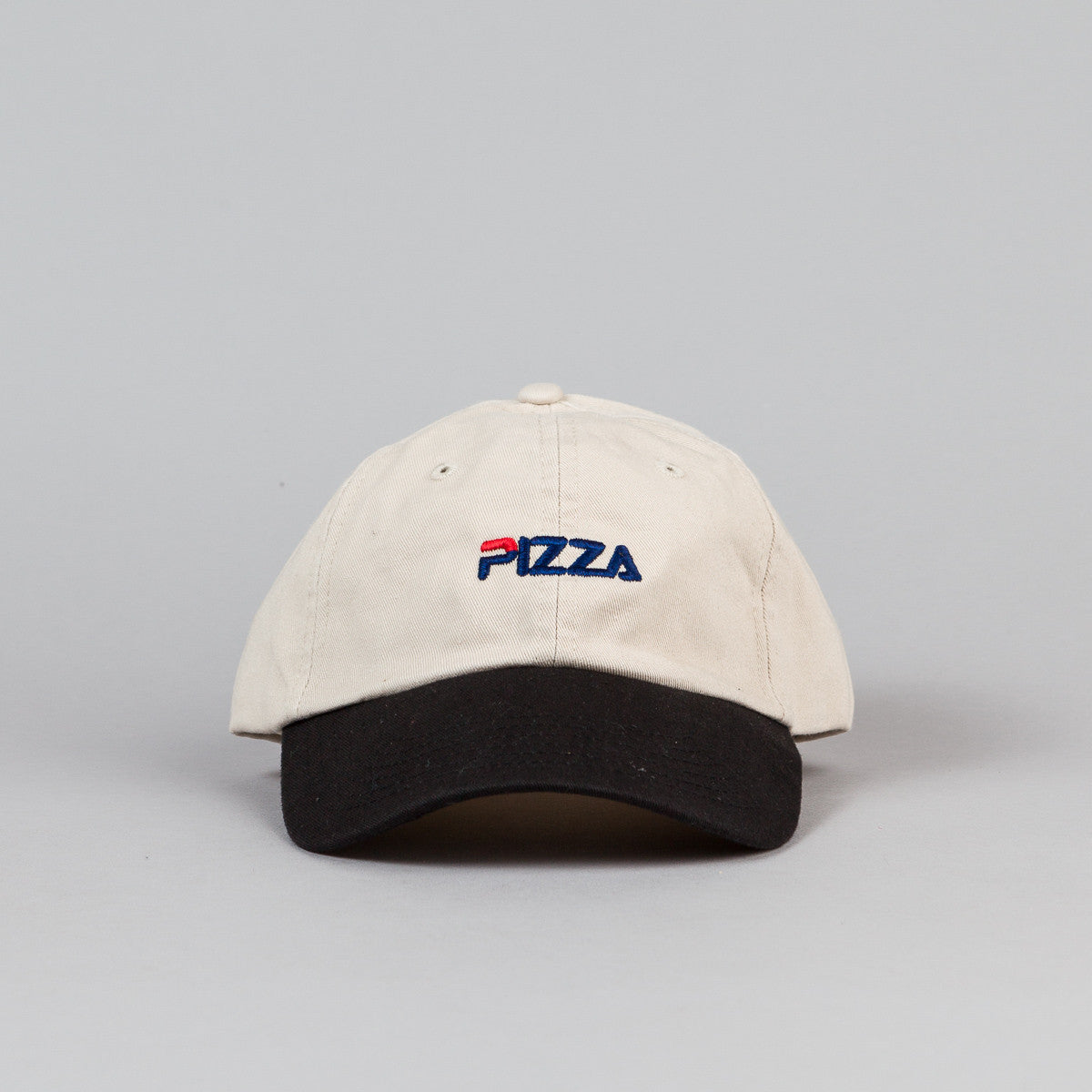 Pizza Skateboards Fizza Delivery Boy Cap - Stone / Black