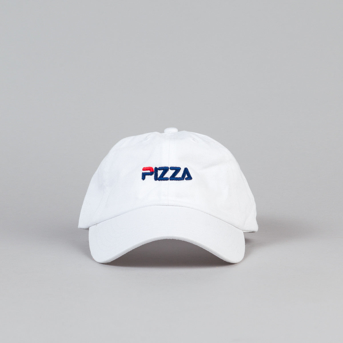 Pizza Skateboards Fizza Delivery Boy Cap - White