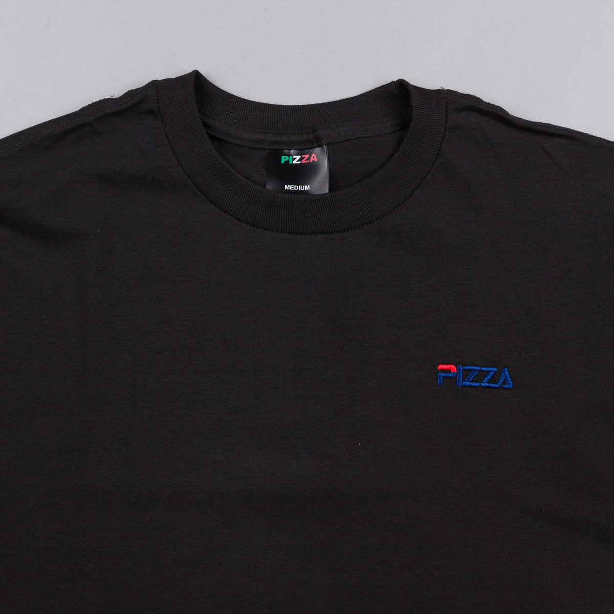 Pizza Skateboards Fizza T-Shirt - Black