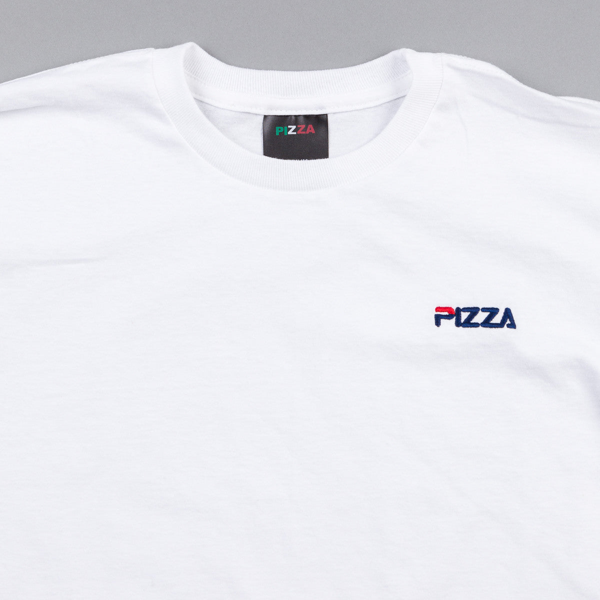 Pizza Skateboards Fizza T-Shirt - White