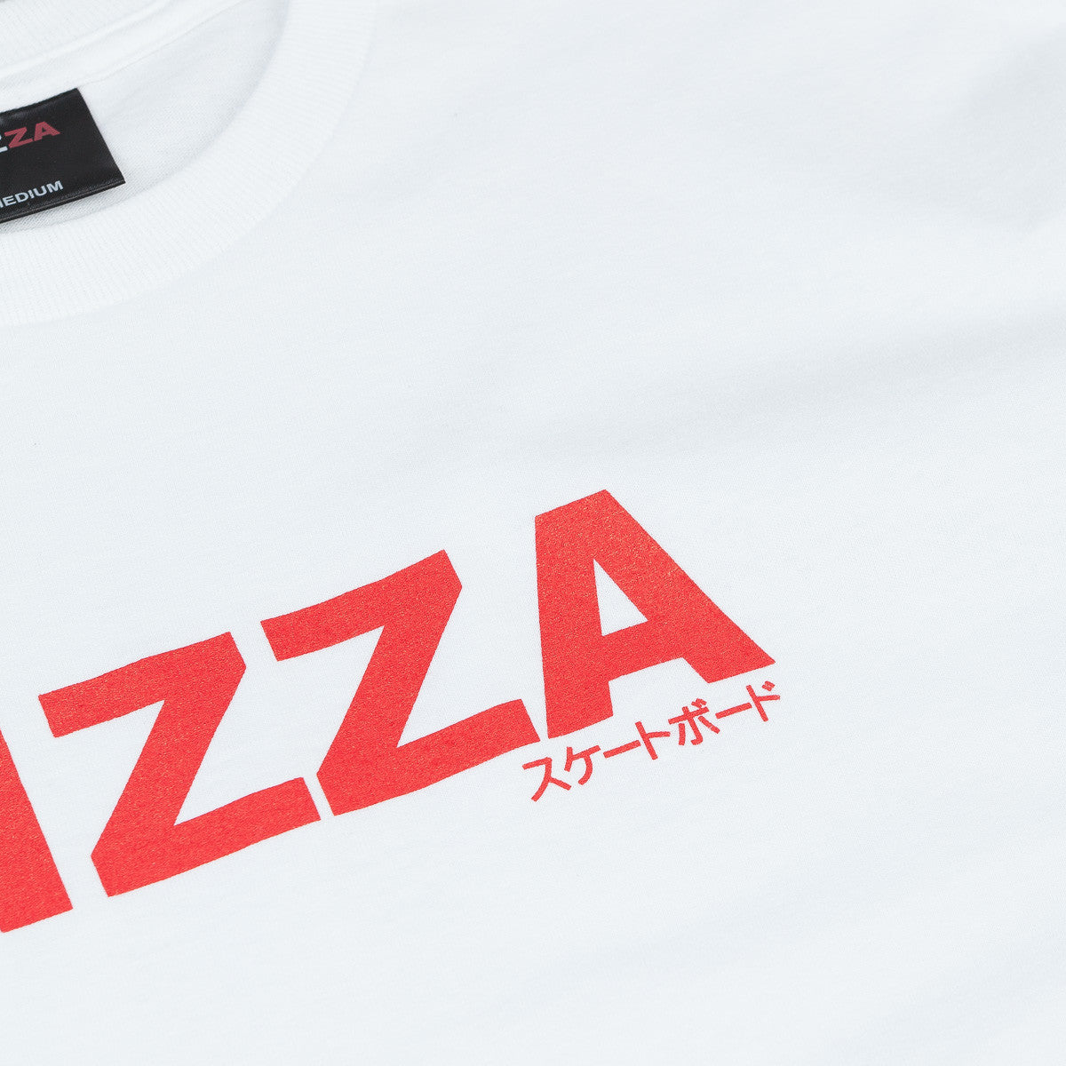 Pizza Skateboards JP Logo T-Shirt - White