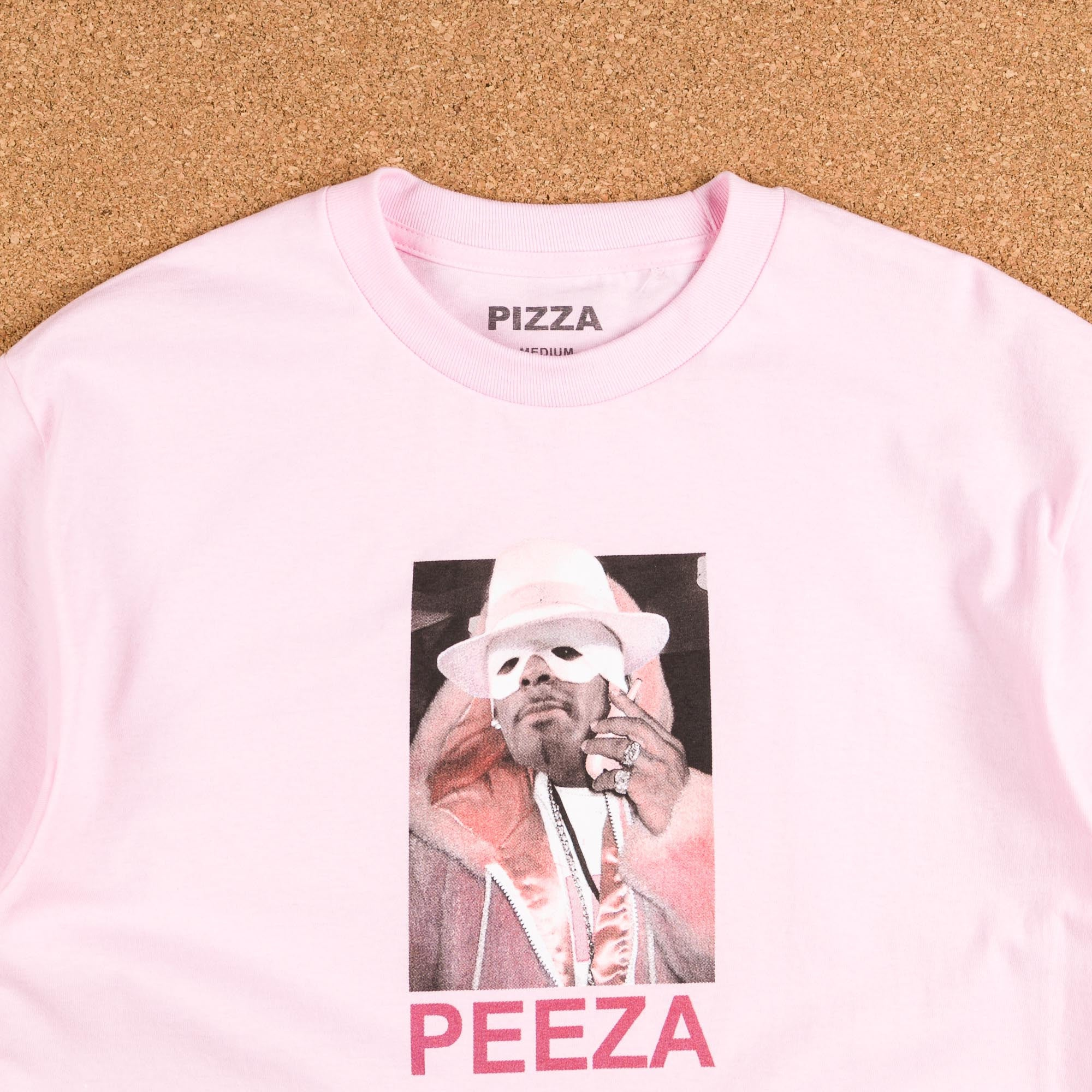 Pizza Skateboards Killa Kels T-Shirt - Pink