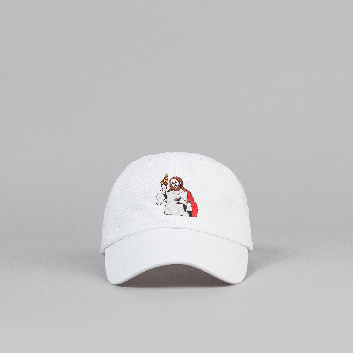 Pizza Skateboards Last Supper Delivery Boy Cap - White