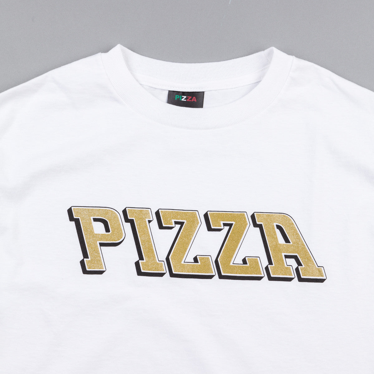 Pizza Skateboards Pizla Long Sleeve T-Shirt - White