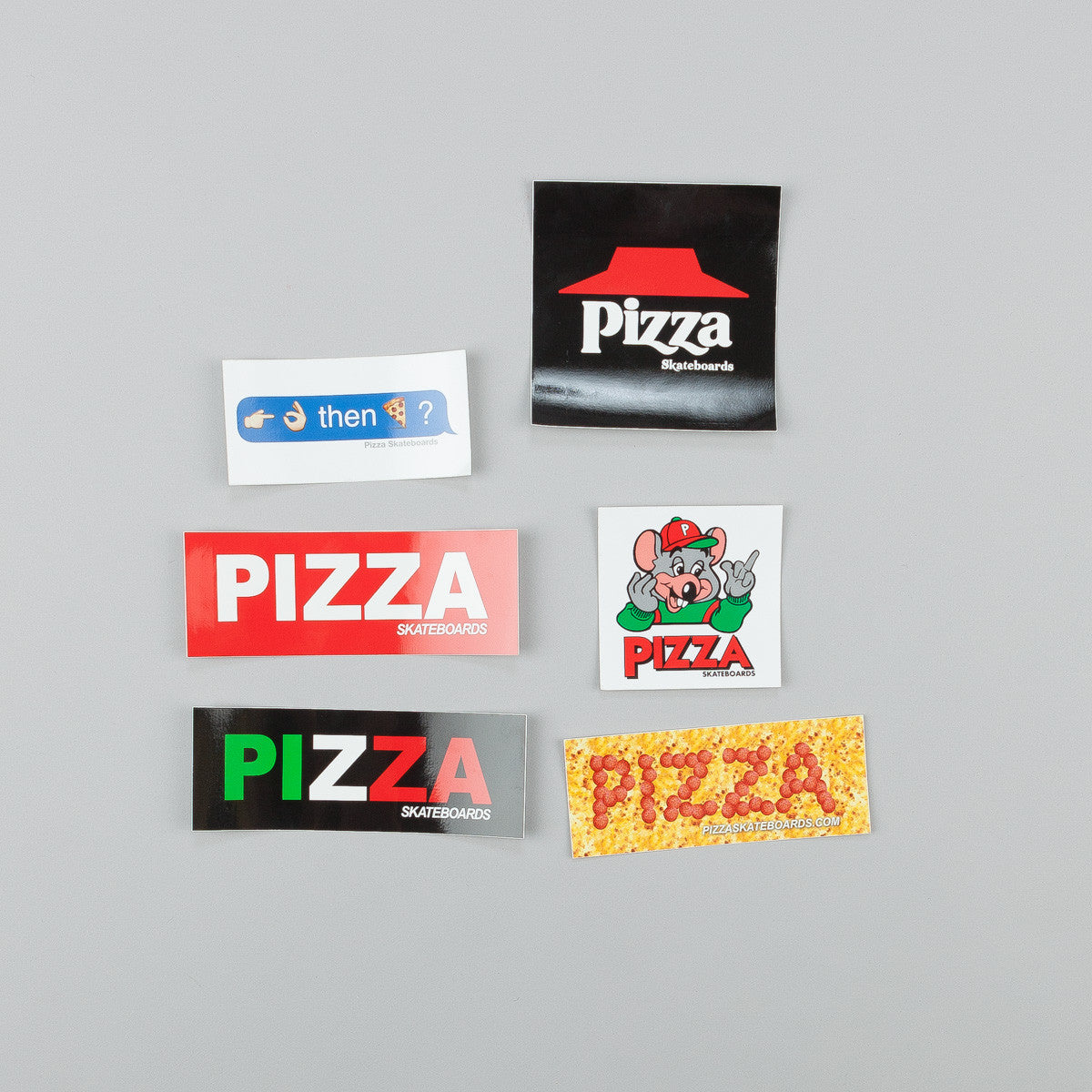 Pizza Skateboards Sticker Pack