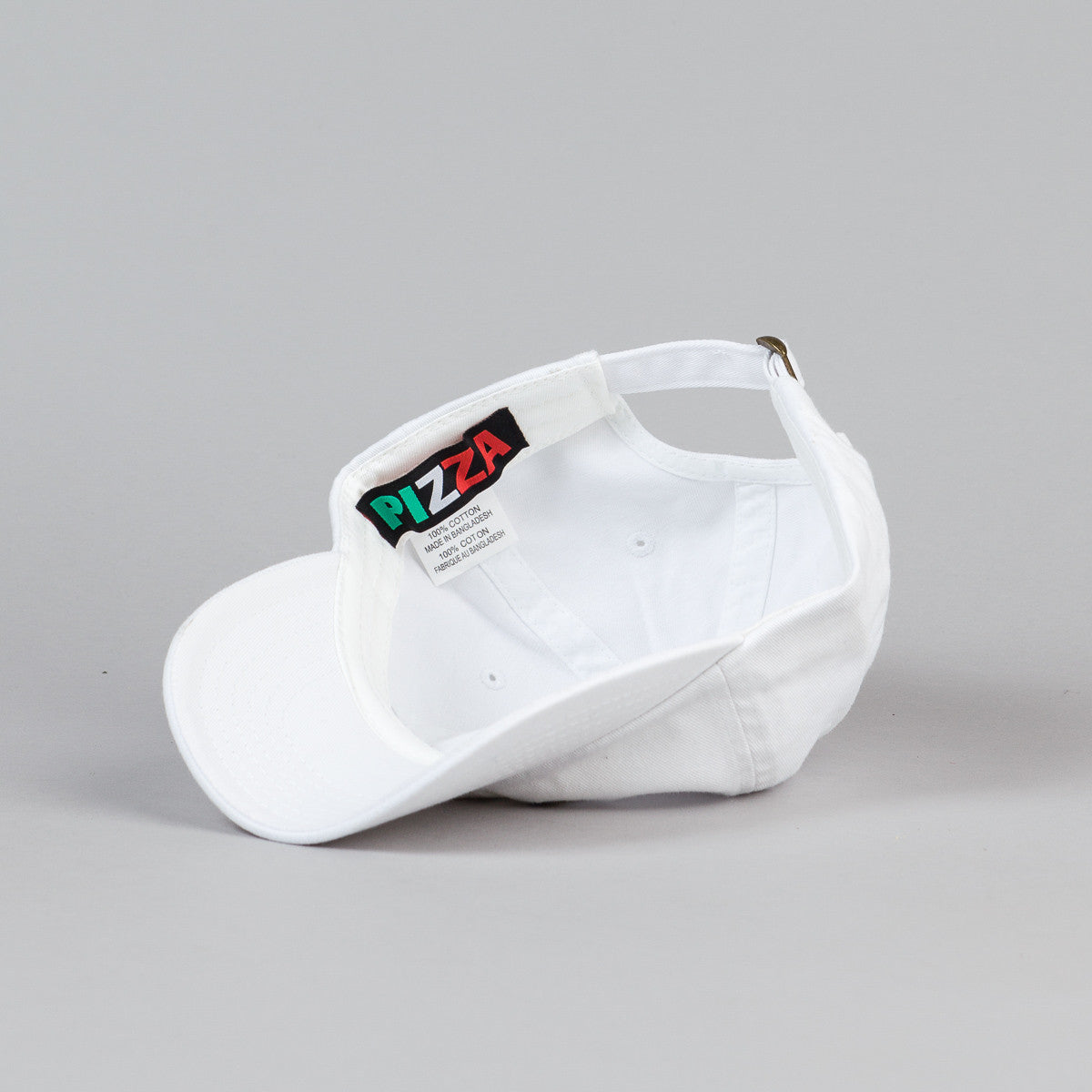 Pizza Skateboards Swerve Delivery Boy Cap - White