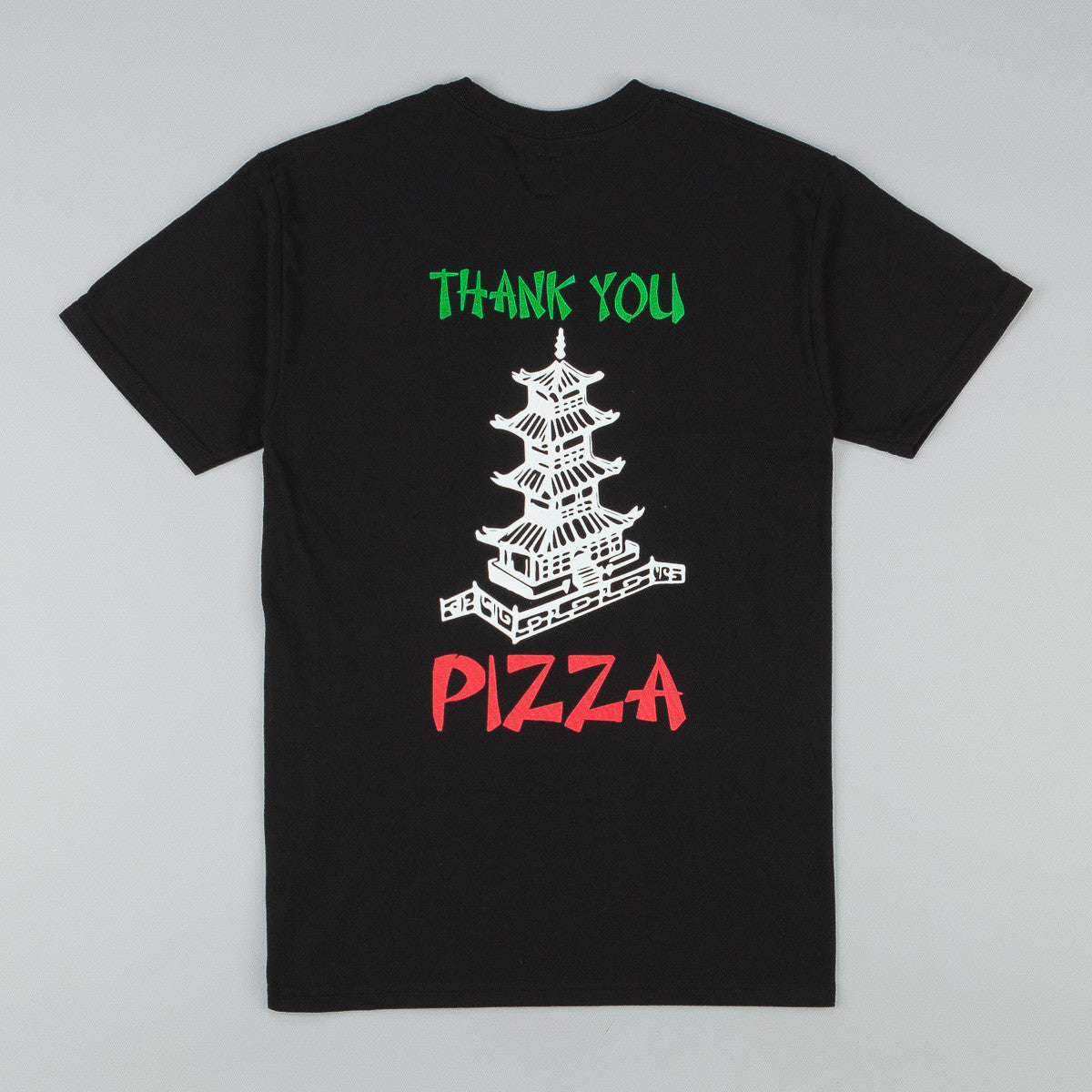 Pizza Skateboards Take Out T-Shirt - Black