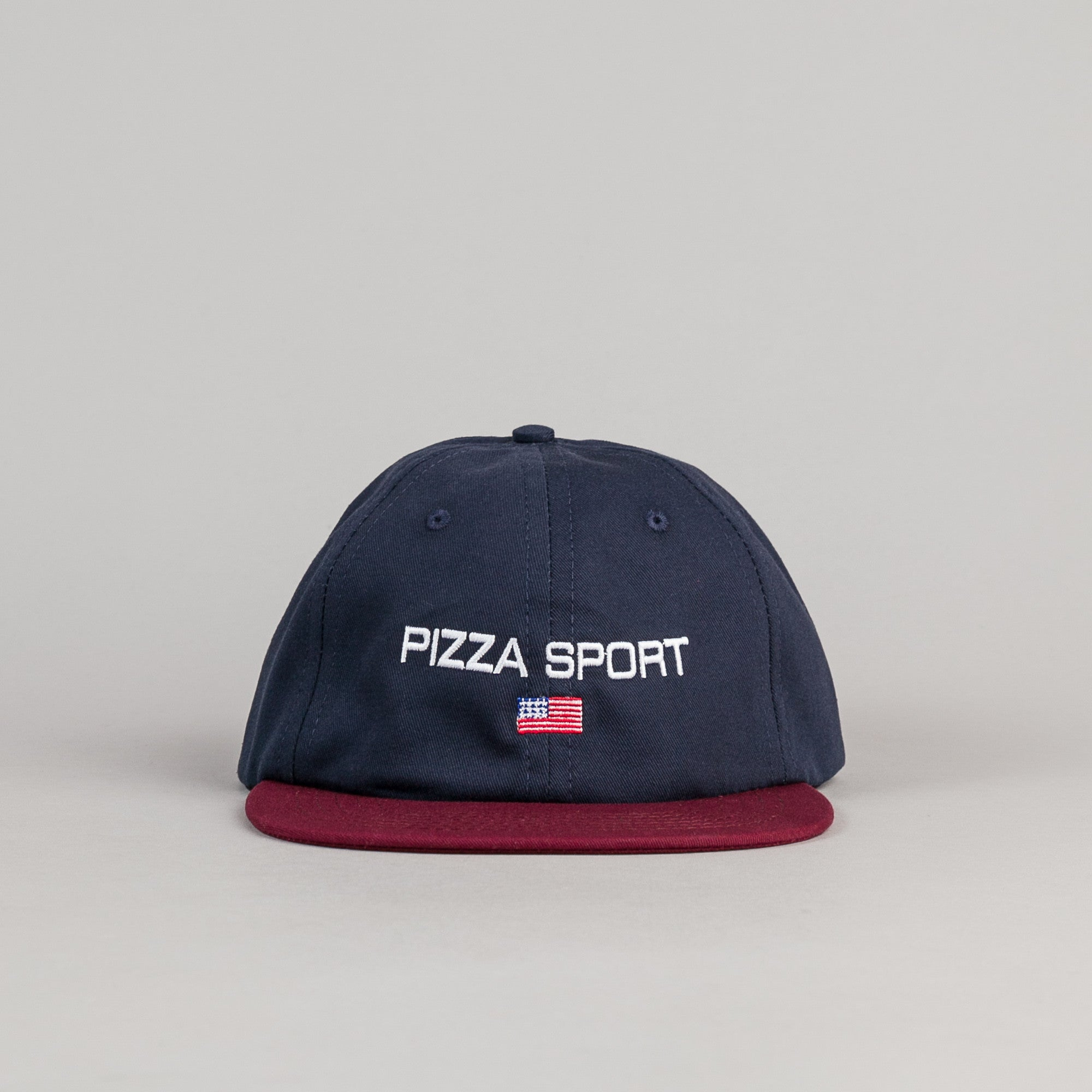 Pizza Skateboards Pizza Sport Cap - Blue / Red