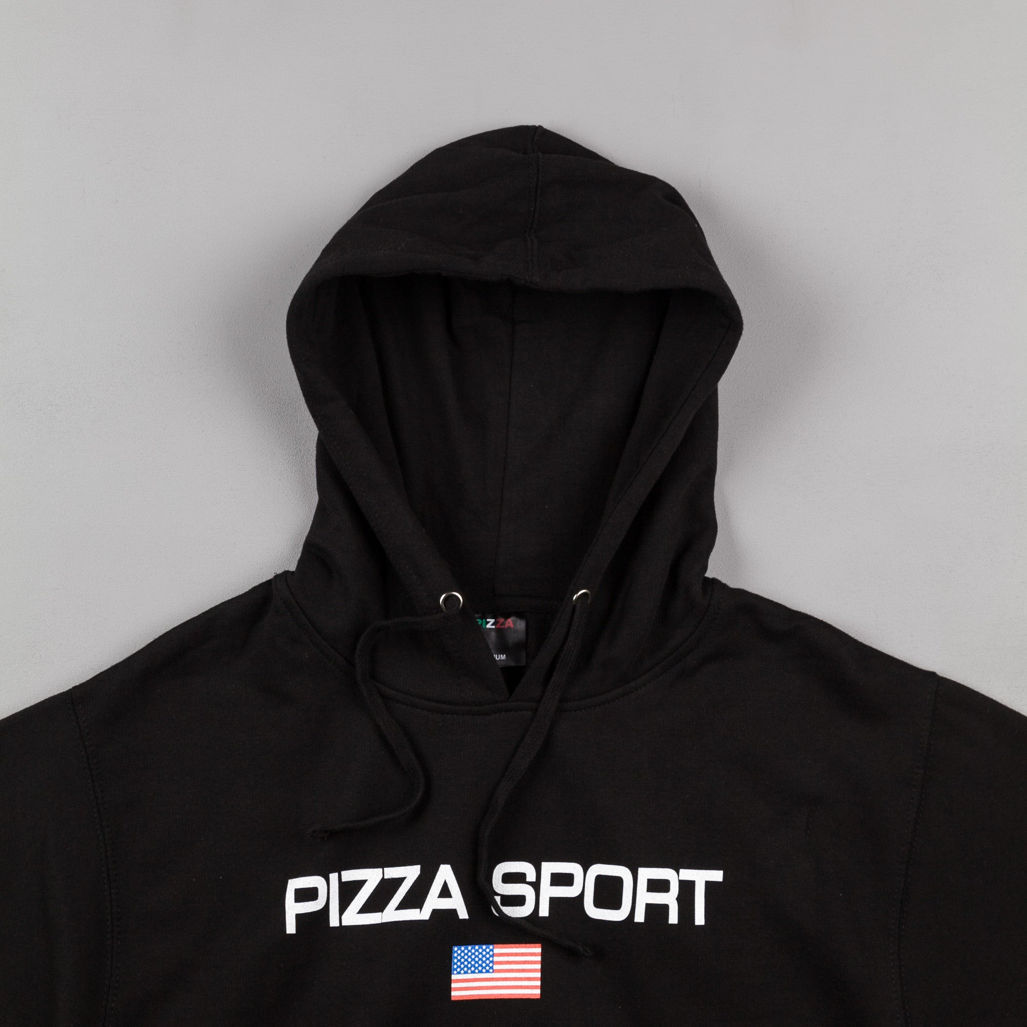 Pizza Skateboards Pizza Sport Hooded Sweatshirt - Black