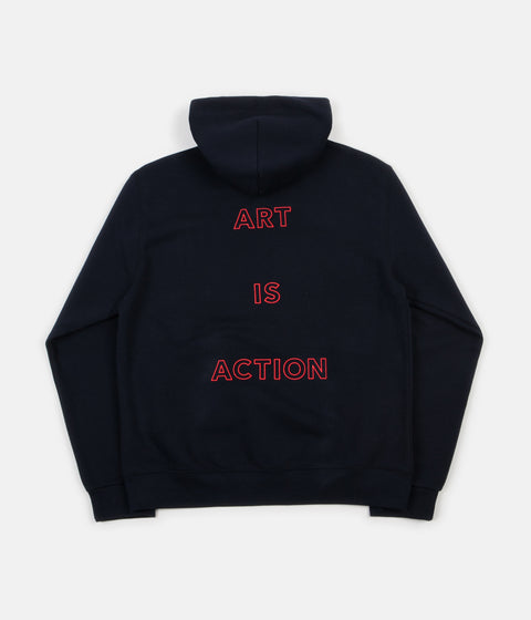 Poetic Collective Art Is Action Hoodie - Navy