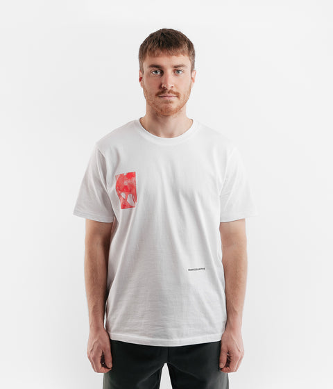 Poetic Collective Fluid T-Shirt - White