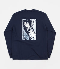 Poetic Collective Long Sleeve T-Shirt - Navy