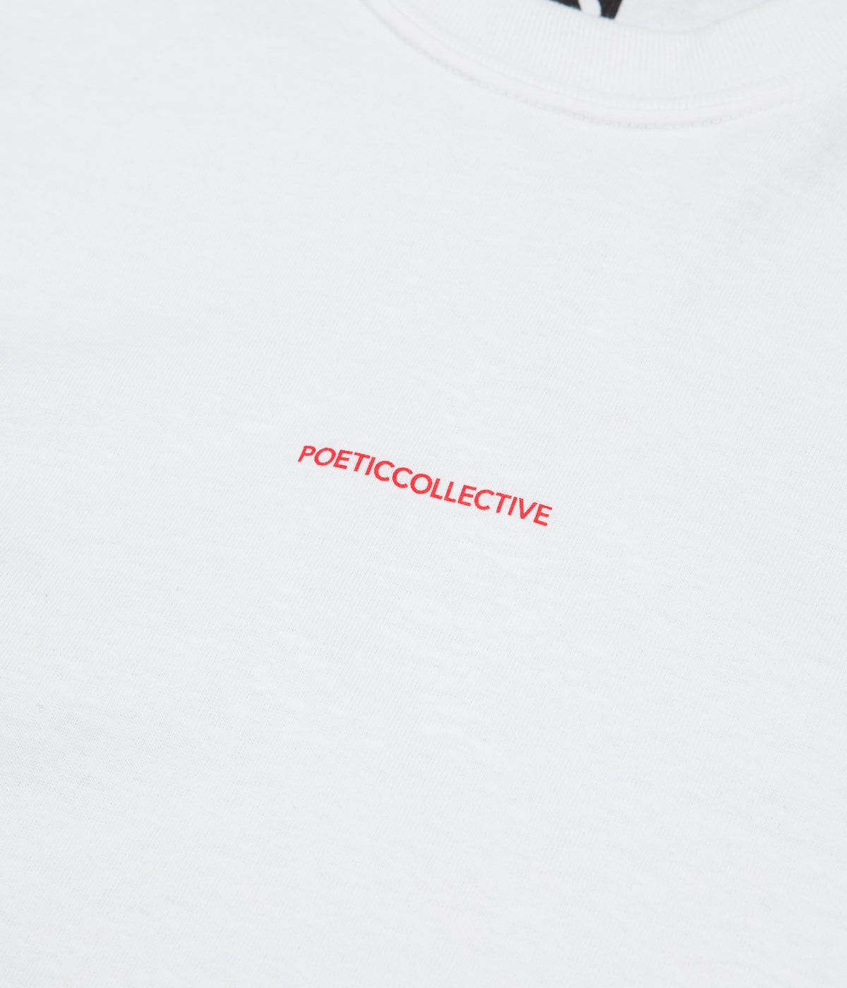 Poetic Collective Long Sleeve T-Shirt - White