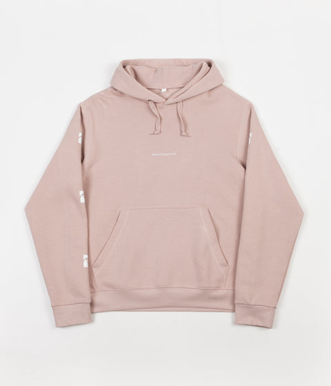 Poetic Collective Sleeve Hoodie - Washed Out Pink