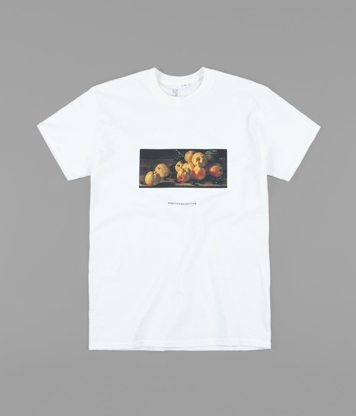 Poetic Collective Still Life T-Shirt - White