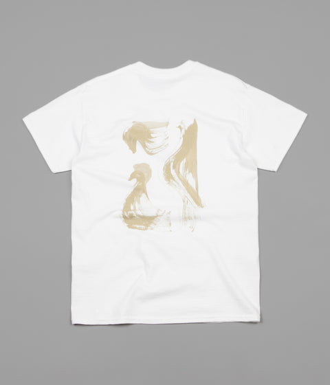 Poetic Collective T-Shirt - White / Beige