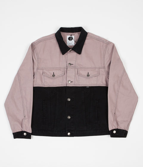 Polar 87 Denim Jacket - Dark Pink