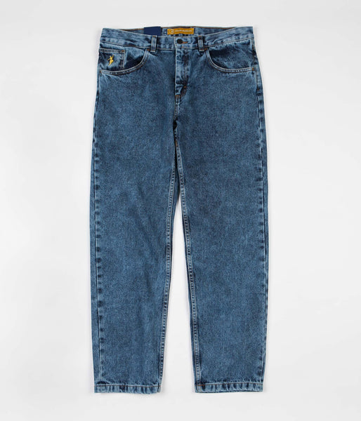 Polar 90's Jeans - Acid Blue