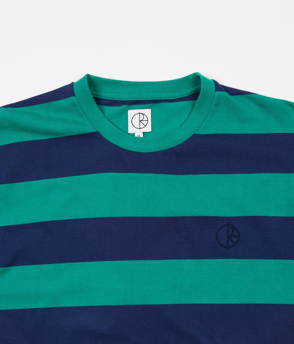 Polar '91 Stripe T-Shirt - Green / Navy