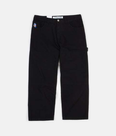 Polar 93 Canvas Trousers - Black