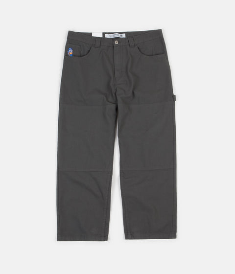 Polar 93 Canvas Trousers - Grey / Green
