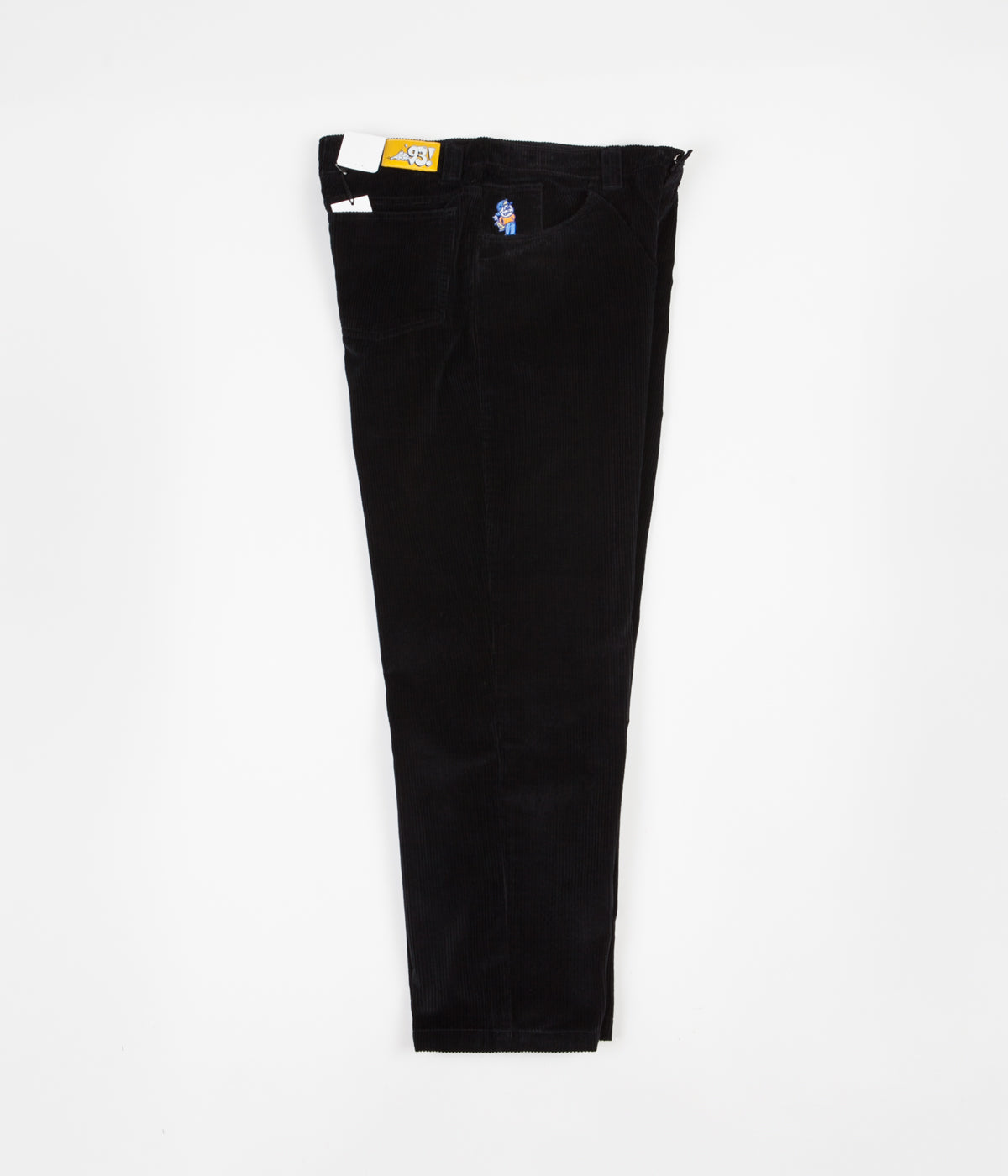Polar 93 Cord Trousers - Black