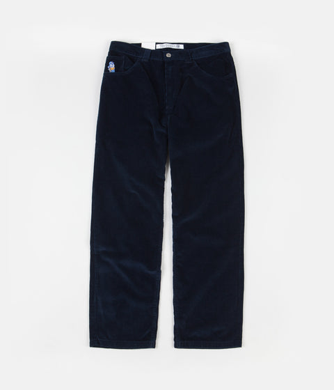 Polar 93 Cord Trousers - Police Blue