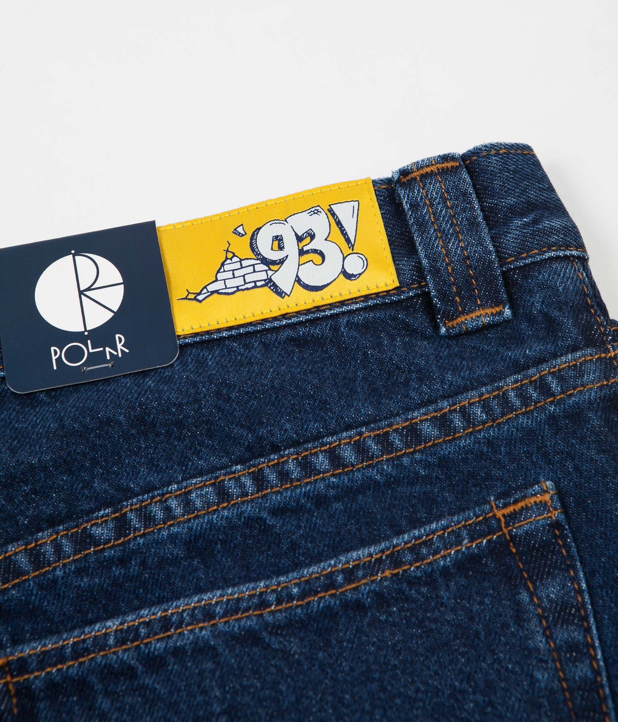 Polar 93 Denim Jeans - Dark Blue