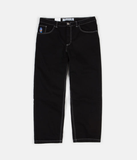 Polar 93 Denim Jeans - Solid Black