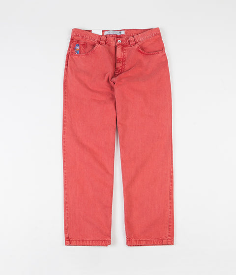 Polar 93 Denim Jeans - Washed Red