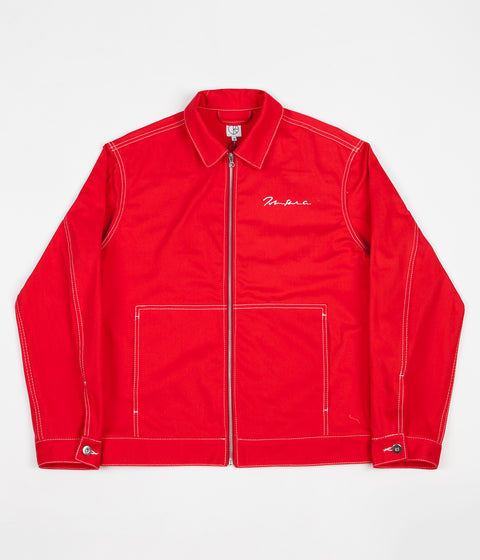 Polar '94 Denim Jacket - Red