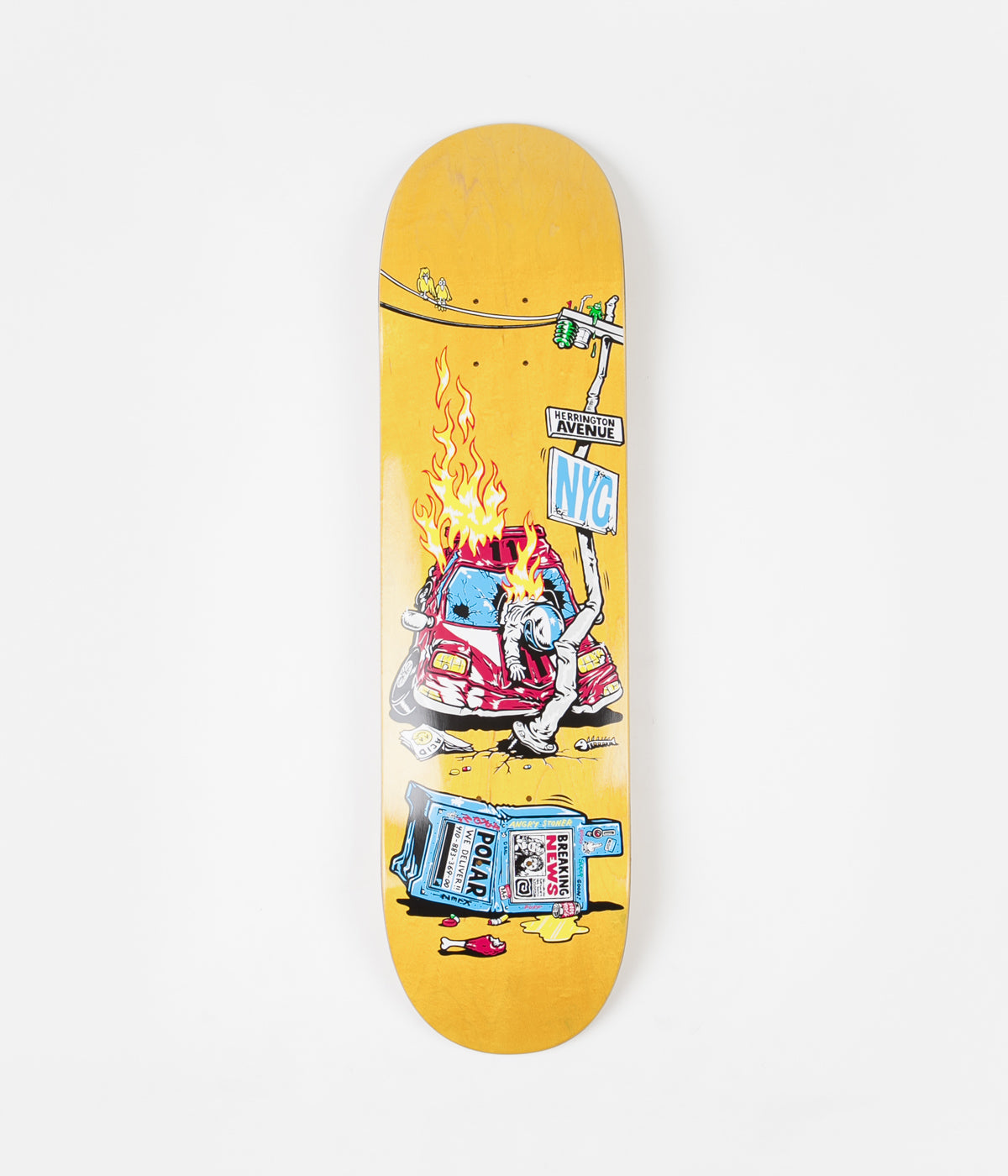 Polar Aaron Herrington Crash Deck - 8.25""