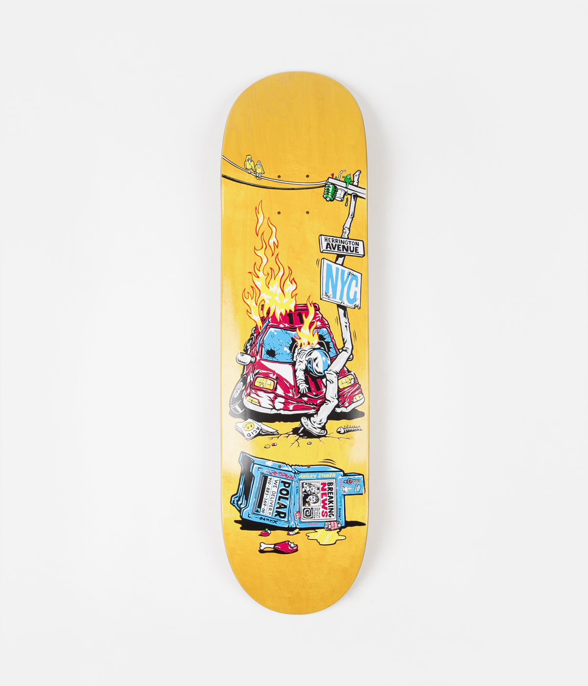 Polar Aaron Herrington Crash Deck - 8.5""