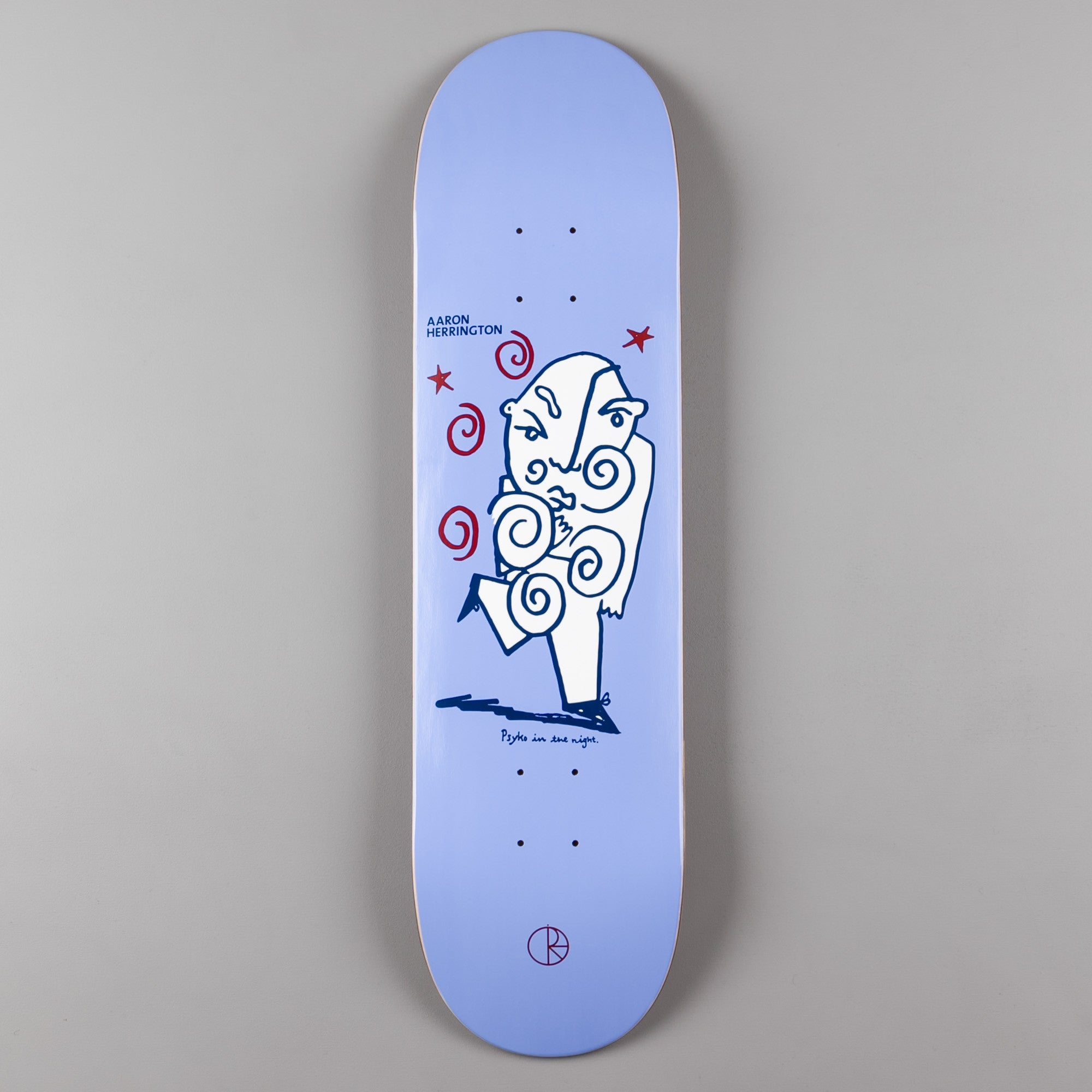 Polar Aaron Herrington Psycho In The Night Deck - Purple - 8.25""