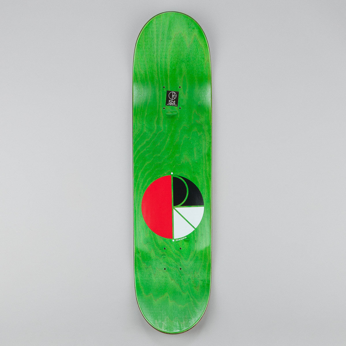 Polar AH BS Boneless Deck - White 8.125""