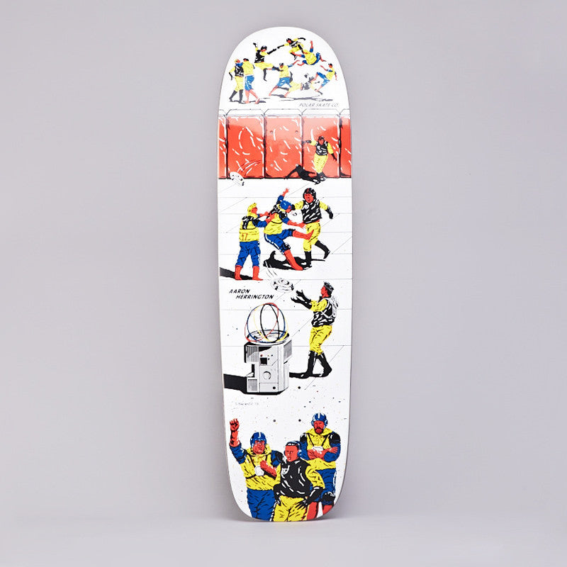 Polar AH For The Win P1 Deck 8.75""