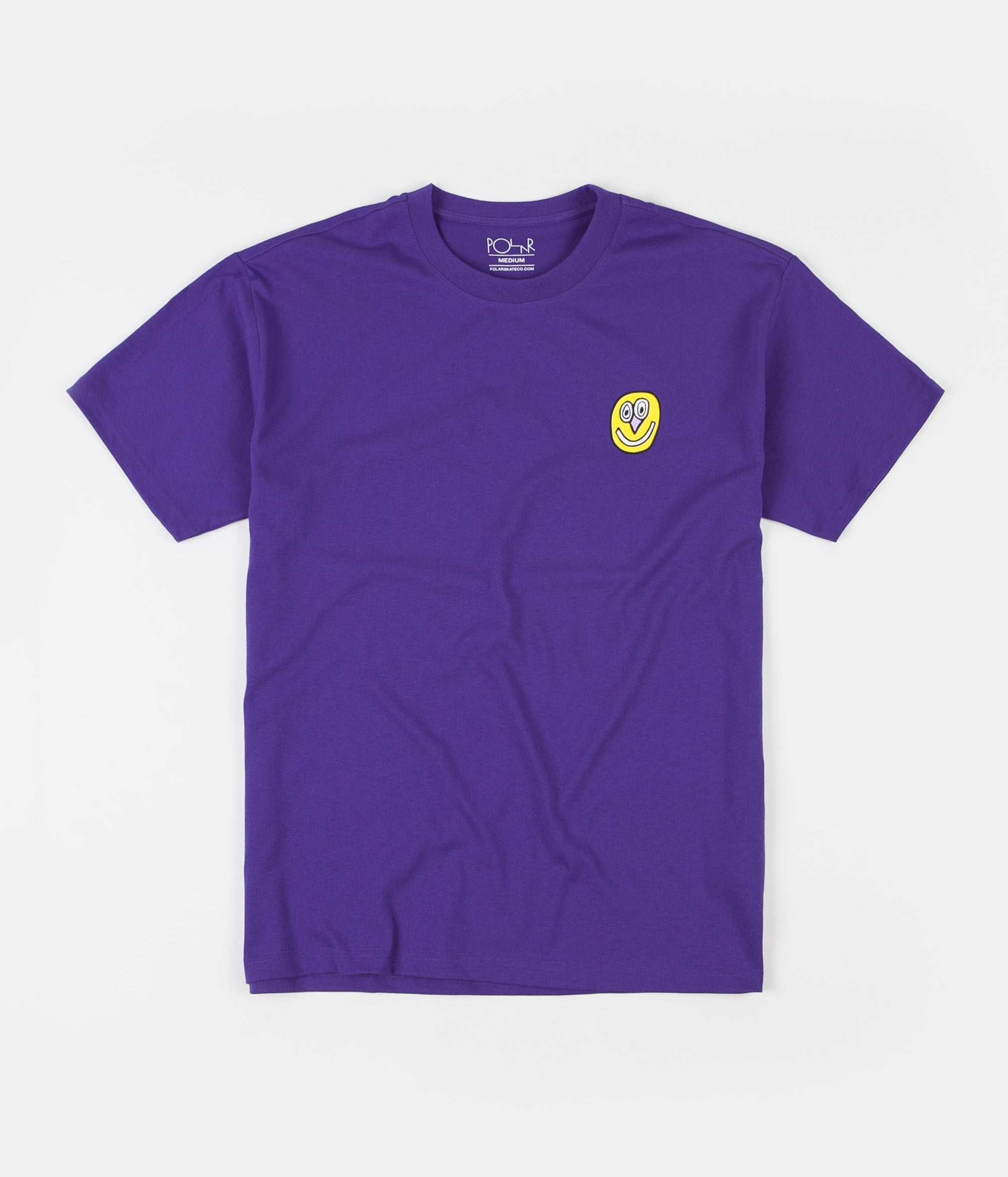 Polar Alien T-Shirt - Blueish Purple
