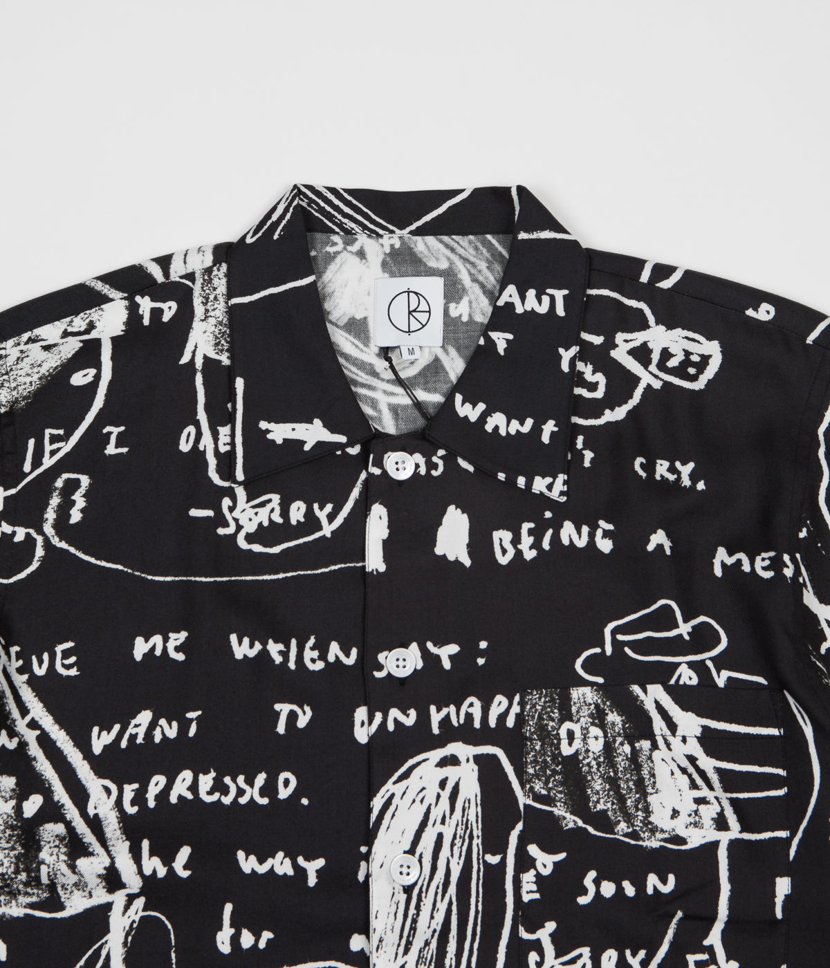 Polar Alv Art Shirt - Black / White