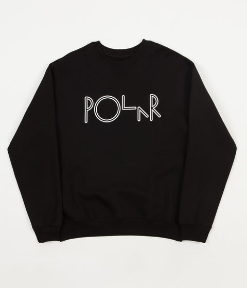 Polar American Fleece Crewneck Sweatshirt - Black