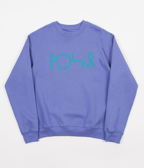 Polar American Fleece Crewneck Sweatshirt - Violet