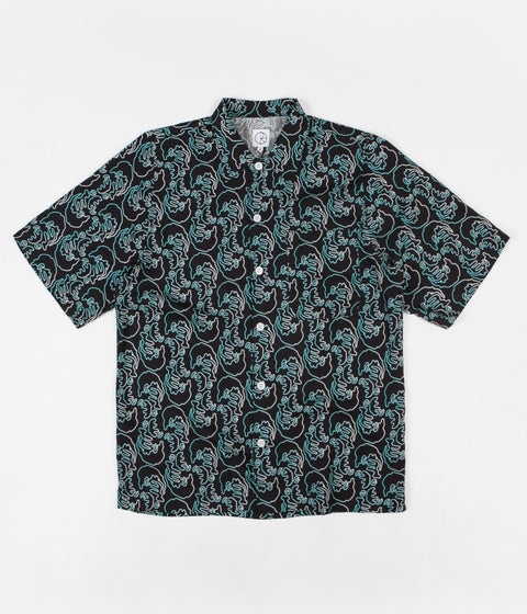 Polar Art Shirt - Faces - Black