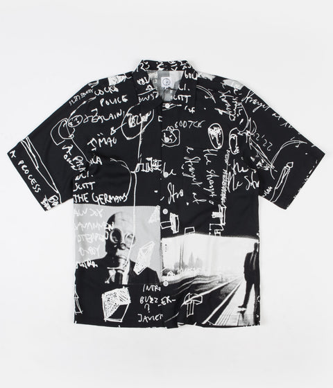 Polar Art Shirt - Strongest Notes - Black