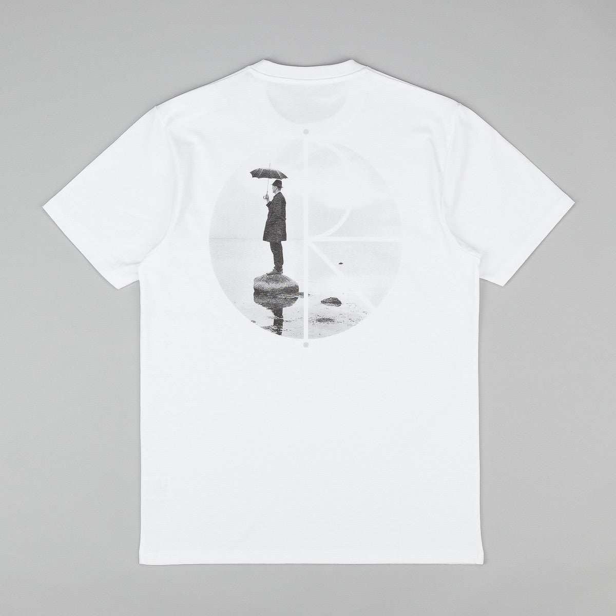 Polar As Long As Umbrellas Fly T Shirt - White