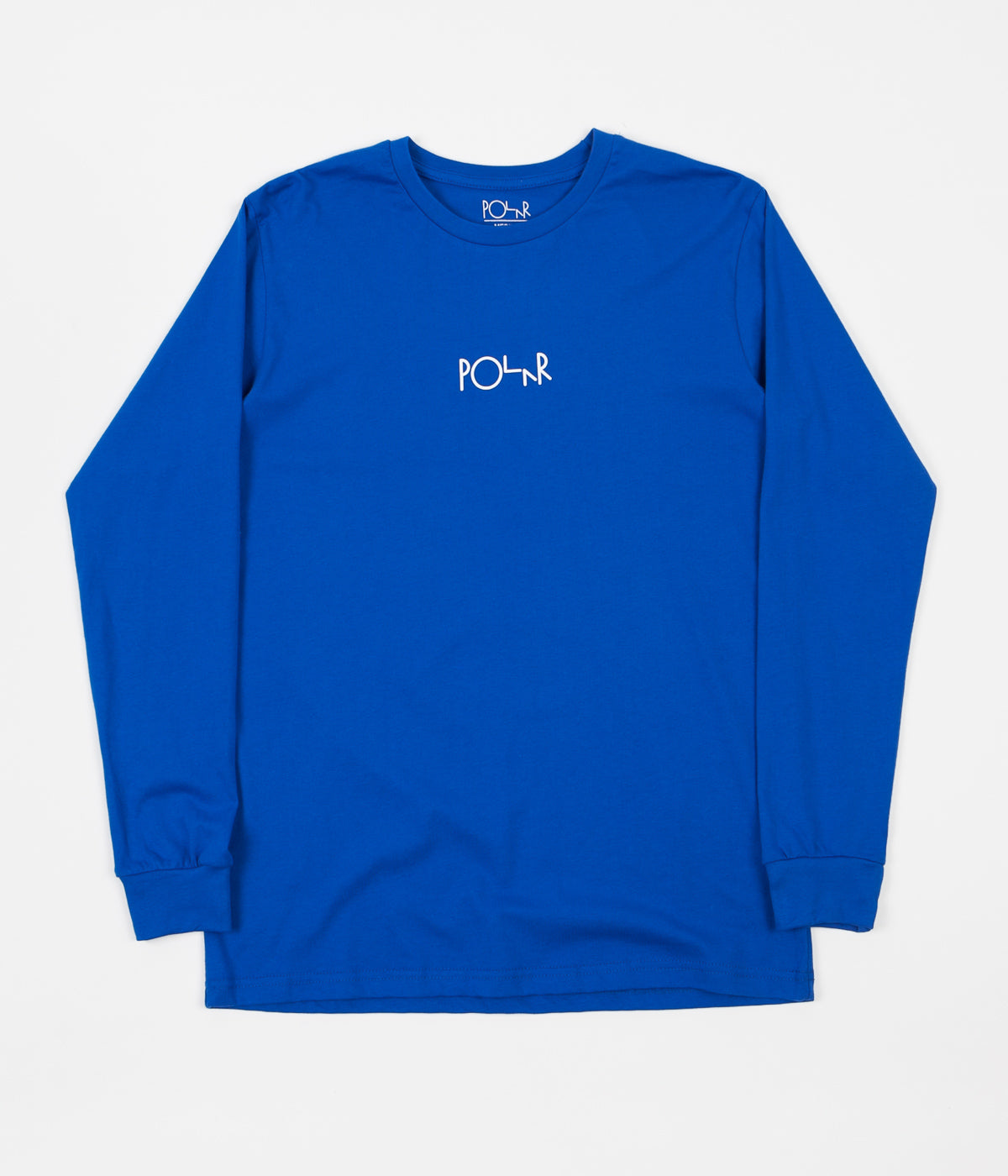 Polar Beast Mode Long Sleeve T-Shirt - 80's Blue